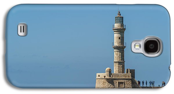 Lighthouse In The Venetian Harbour Galaxy S4 Case
