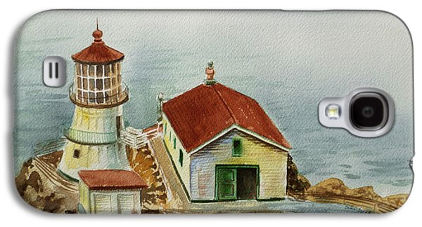 Lighthouse Point Reyes California Galaxy S4 Case