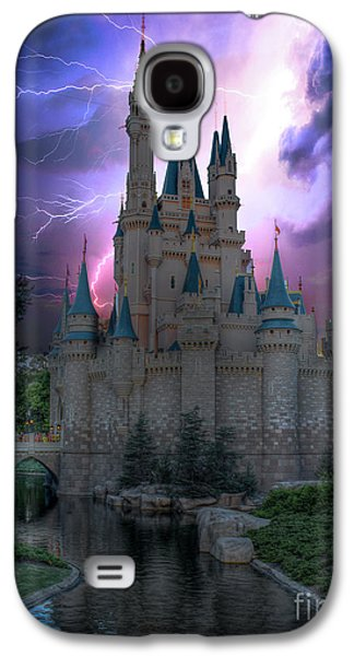 Lighting Over The Castle Galaxy S4 Case