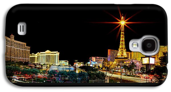Lighting Up Vegas Galaxy S4 Case by Az Jackson