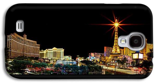 Lighting Up Vegas Galaxy S4 Case by Az Jackson