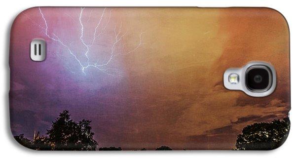 Lightning Strike Galaxy S4 Case by Marvin Spates