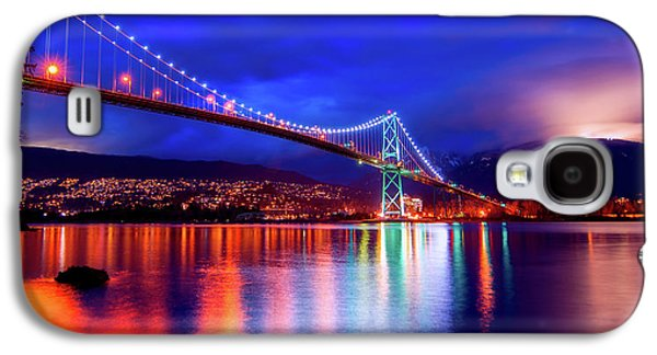 Lights Of The Bridge Galaxy S4 Case