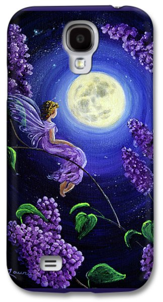 Lilac Fairy Bathed In Moonlight Galaxy S4 Case
