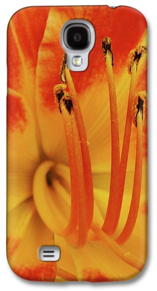 Lilly Macro Galaxy S4 Case by Michael Peychich