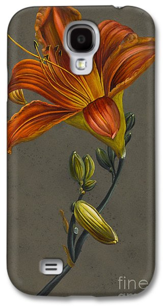 Lily Galaxy S4 Case by Louise D'Orleans
