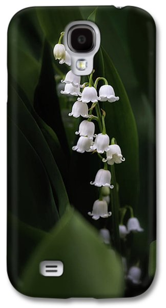 Lily Galaxy S4 Case - Lily Of The Valley by Tom Mc Nemar