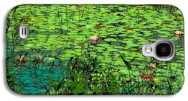 Lily Pads - An Abstract Galaxy S4 Case