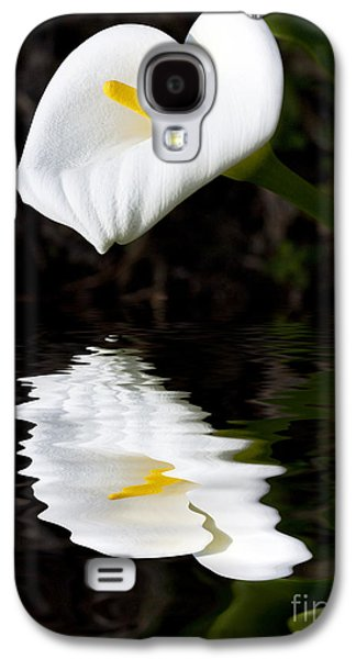 Lily Reflection Galaxy S4 Case by Avalon Fine Art Photography