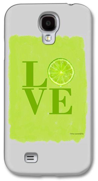 Lime Galaxy S4 Case by Mark Rogan