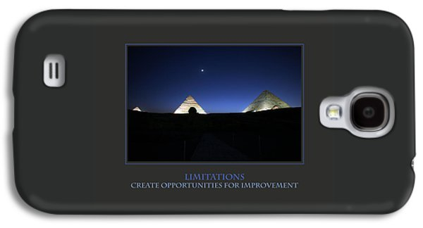 Limitations Create Opportunities For Improvement Galaxy S4 Case by Donna Corless