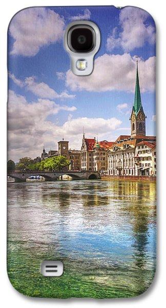 Limmat River Zurich Switzerland  Galaxy S4 Case