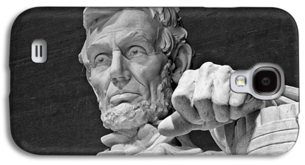 Lincoln And His Hand Galaxy S4 Case by Andres Leon