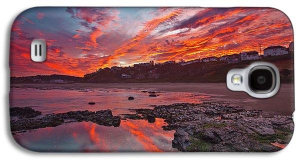 Lincoln City Sunrise Galaxy S4 Case by Darren White