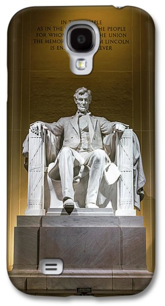 Lincoln Memorial Galaxy S4 Case - Lincoln Memorial by Larry Marshall