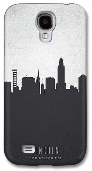 Lincoln Nebraska Cityscape 19 Galaxy S4 Case by Aged Pixel