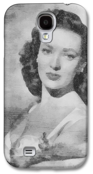 Linda Darnell, Actor Galaxy S4 Case by John Springfield
