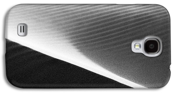 Agate Beach Oregon Galaxy S4 Cases - Lines In The Sand Galaxy S4 Case by Claude Dalley