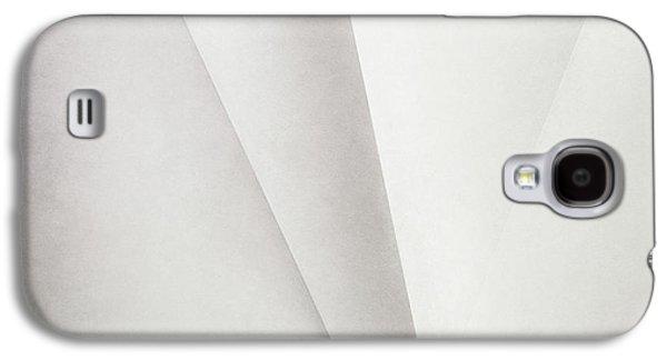 Minimalist Galaxy S4 Case - Lines On Paper by Scott Norris
