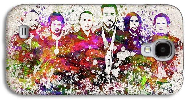 Linkin Park In Color Galaxy S4 Case