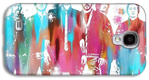 Linkin Park Watercolor Paint Splatter Galaxy S4 Case by Dan Sproul
