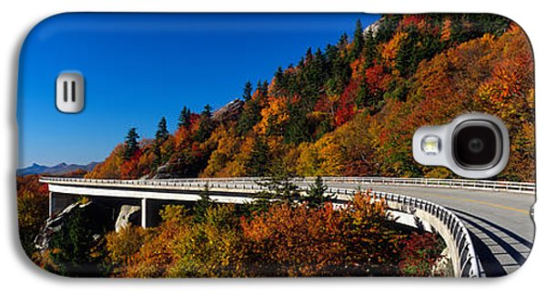 Linn Cove Viaduct Blue Ridge Parkway Nc Galaxy S4 Case by Panoramic Images