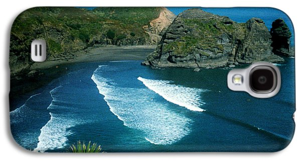 Lion Beach Piha New Zealand Galaxy S4 Case