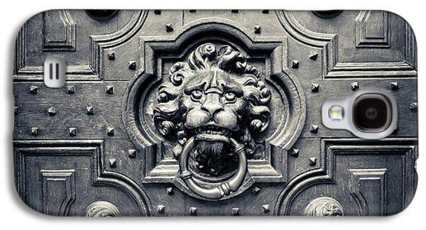 Lion Head Door Knocker Galaxy S4 Case by Adam Romanowicz