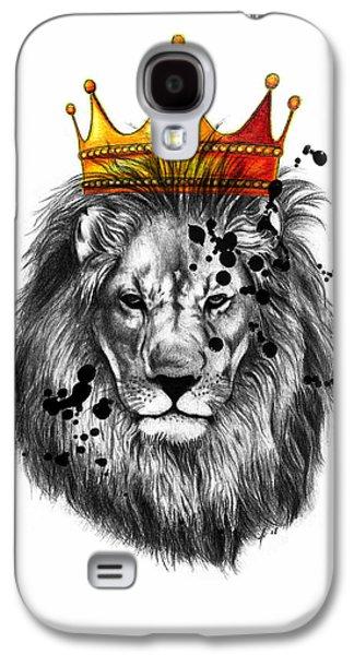 Lion King  Galaxy S4 Case by Mark Ashkenazi
