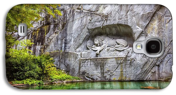 Lion Of Lucerne Galaxy S4 Case by Carol Japp