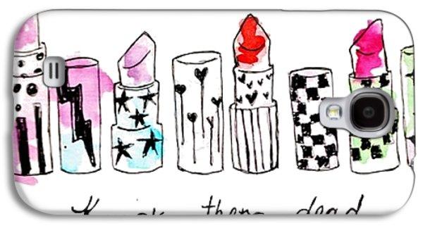 Lipstick Galore Galaxy S4 Case by Elizabeth Taylor