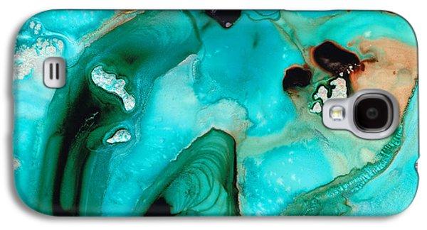 Liquid Art - Aqua Dance - Sharon Cummings Galaxy S4 Case by Sharon Cummings