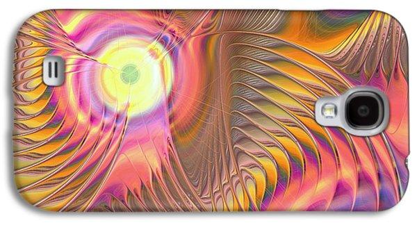 Liquid Rainbow Galaxy S4 Case by Anastasiya Malakhova