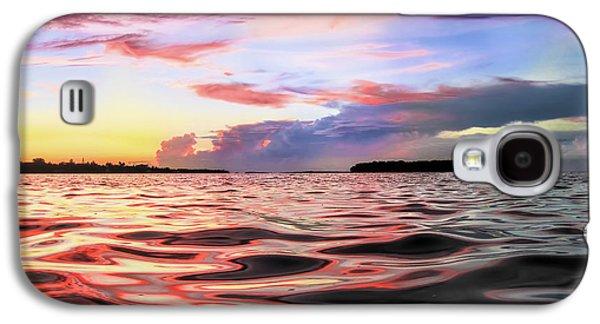 Liquid Red Galaxy S4 Case