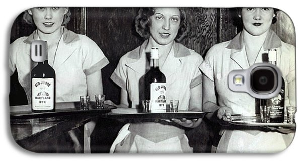 Liquor Is Served - Prohibition Ends 1933 Galaxy S4 Case by Daniel Hagerman