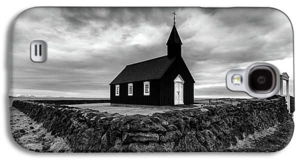 Little Black Church 2 Galaxy S4 Case by Larry Marshall