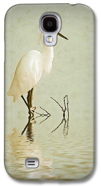 Little Egret Galaxy S4 Case by Sharon Lisa Clarke