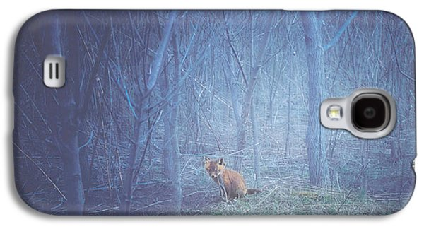 Little Fox In The Woods Galaxy S4 Case by Carrie Ann Grippo-Pike