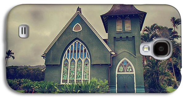 Little Green Church Galaxy S4 Case by Laurie Search