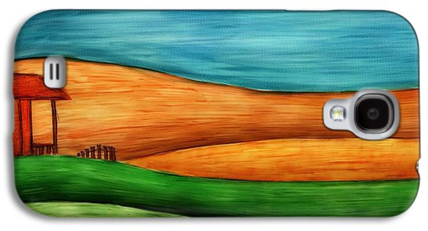 Little House On Hill Galaxy S4 Case by Brenda Bryant