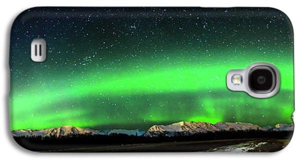 Little House Under The Aurora Galaxy S4 Case