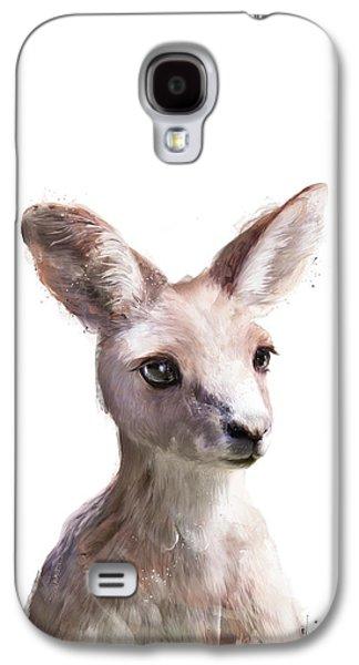Little Kangaroo Galaxy S4 Case by Amy Hamilton