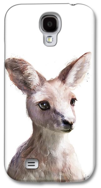 Little Kangaroo Galaxy S4 Case by Amy Hamilton