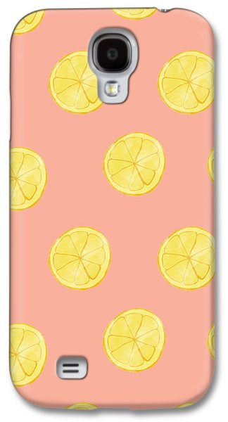 Little Lemons Galaxy S4 Case by Allyson Johnson