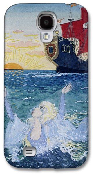 Little Mermaid Galaxy S4 Case by Lorenz Frolich