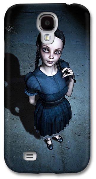 Little Miss Innocent Galaxy S4 Case by Britta Glodde