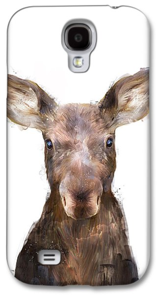 Little Moose Galaxy S4 Case by Amy Hamilton
