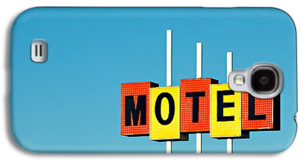 Little Motel Sign Galaxy S4 Case by Todd Klassy