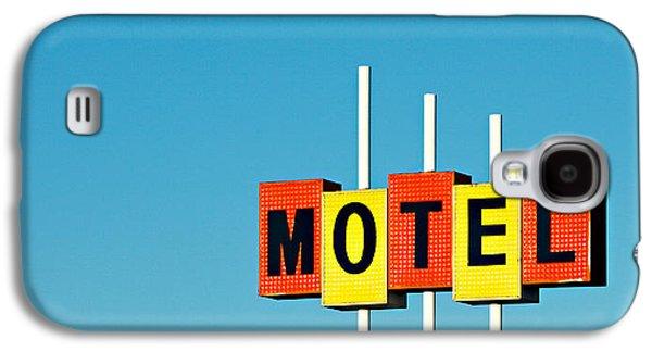 Little Motel Sign Galaxy S4 Case by Todd Klassy