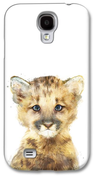 Little Mountain Lion Galaxy S4 Case by Amy Hamilton